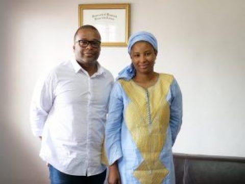 Interview between Mr Régis SEGBENOU, Executive Director of the NSIA Foundation and Mrs Hann KEITA, DGA APIP