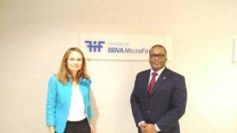 Visite à la Fondation BBVA MicroFinanzas en Espagne