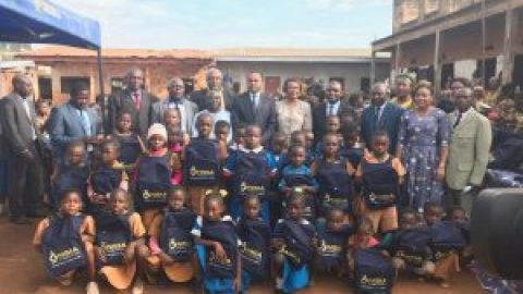 NSIA Fondation et NSIA Assurances Cameroun démarrent la campagne dénommée NSIA Rentrée- EEP Djelengue 2 de Bafoussam