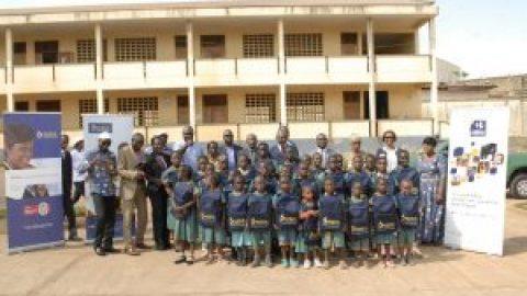 NSIA Fondation et NSIA Assurances Cameroun démarrent la campagne dénommée NSIA Rentrée – EPP EKOUDOU 2 de Youndé Briqueterie